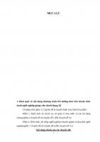 Tiểu luận lớp Chứng chỉ bồi dưỡng gỉang viên chính  25 trang HV QLGD