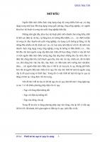 Thiết kế bộ nạp ắc quy tự động (KIỂU VỪA DÒNG VỪA ÁP YC NẠP NHANH) ĐH Bách khoa Hà Nội