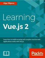 Learning vue js 2  Tìm hiểu về Vue js 2