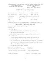 ĐIỀU KHIỂN VÀ GIÁM SÁT QUY TRÌNH SẢN XUẤT SỮA (Có code)