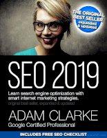 SEO 2019 - Adam Crake - Learn Search Engine Optimization With Smart Internet Marketing strategies