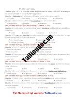 58 câu TRÁI NGHĨA từ đề các TRƯỜNG CHUYÊN  image marked image marked