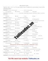 130 câu từ VỰNG từ đề các TRƯỜNG KHÔNG CHUYÊN image marked image marked