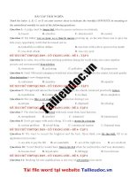 40 câu  TRÁI NGHĨA từ đề cô TRANG ANH tập 2 image marked image marked