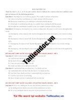 12 câu nối câu từ đề cô QUỲNH TRANG MOON  image marked image marked