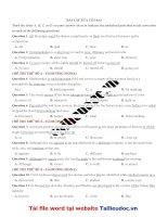 45 câu sửa lỗi SAI từ đề cô HƯƠNG FIONA image marked image marked