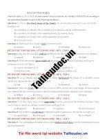 40 câu  TRÁI NGHĨA  từ đề cô TRANG ANH tập 1  image marked image marked