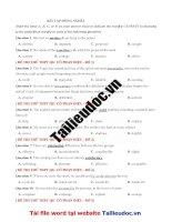 38 câu ĐỒNG NGHĨA  từ đề cô PHAN điệu image marked image marked