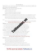 55 câu nối câu từ đề các TRƯỜNG KHÔNG CHUYÊN image marked image marked