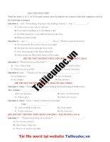56 câu  GIAO TIẾP từ đề các TRƯỜNG KHÔNG CHUYÊN image marked image marked