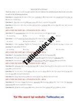 51 câu sửa lỗi SAI từ đề cô HOÀNG XUÂN image marked image marked