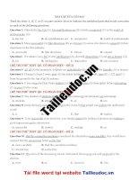 57 câu sửa lỗi SAI  từ đề cô PHAN điệu image marked image marked
