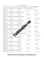 42 câu PHÁT âm từ đề cô vũ MAI PHƯƠNG  image marked image marked