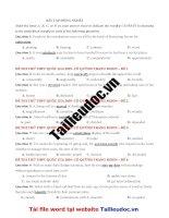 12 câu  ĐỒNG NGHĨA từ đề cô QUỲNH TRANG MOON image marked image marked
