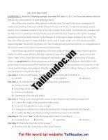 12 bài tập đọc HIỂU (90 câu) từ đề cô QUỲNH TRANG MOON  image marked image marked