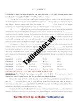 29 bài tập điền từ ( 145 câu) từ đề các TRƯỜNG CHUYÊN image marked image marked