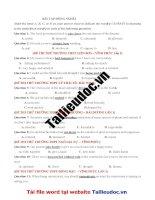56 câu  ĐỒNG NGHĨA từ đề các TRƯỜNG KHÔNG CHUYÊN image marked image marked
