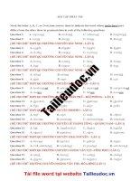 58 câu PHÁT âm từ đề các TRƯỜNG CHUYÊN image marked image marked