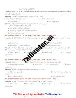 12 câu  GIAO TIẾP từ đề cô QUỲNH TRANG MOON  image marked image marked