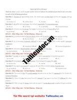63 câu  sửa lỗi SAI từ đề cô vũ MAI PHƯƠNG image marked image marked