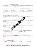 33 câu ĐỒNG NGHĨA từ đề THẦY bùi văn VINH image marked image marked