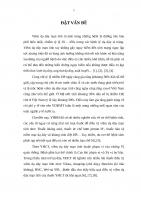 """ĐÁNH GIÁ tác DỤNG của CHÈ TAN """"HƯƠNG SA lục QUÂN"""" TRONG điều TRỊ VIÊM dạ dày mạn TÍNH NHIỄM HELICOBACTER PYLORI"""
