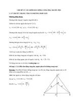 Vật lý 12: Các điểm dao động cùng pha, ngược pha