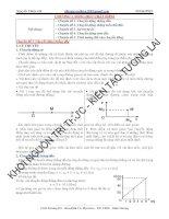 Vật lý 10. Động học chất điểm