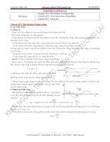 Vật lý 12. chương 2: Sóng cơ