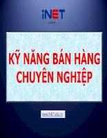 kynangbanhangchuyennghiep 140202033725 phpapp02