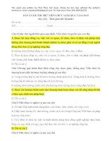 ĐÁP án đề THI THỬ VIÊN CHỨC GIÁO dục kỳ số 8, NGÀY 04 07 2019