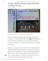 Thuoc actonel 35mg risedronate  Thuốc đặc trị 247
