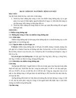 Chăm sóc người bệnh gan mật(xơ gan, áp xe gan)