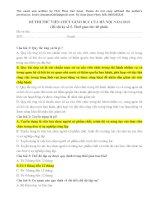 ĐÁP án đề THI THỬ VIÊN CHỨC GIÁO dục năm 2019 kỳ số 5 NGÀY 27 6 2019