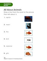 chapter 2 animals and their needs lesson 4 vocab review 161130021117