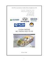 tài liệu Hệ thống điện ô tô