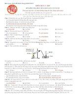 Đề kiểm tra học kì II môn Hóa lớp 11