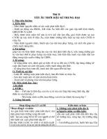 Giáo án Lịch sử 10 bài 11: Tây Âu thời hậu kỳ trung đại
