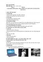 BÀI 10  CÁCH MẠNG KHOA HỌC CÔNG NGHỆ VÀ XU THẾ TOÀN CẦU HÓA NỬA SAU TK XX.