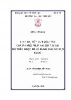 ĐÁNH GIÁ kết QUẢ điều TRỊ của PHƯƠNG PHÁP nội SOI tán sỏi bể THẬN NGƯỢC DÒNG BẰNG ỐNG SOI bán CỨNG