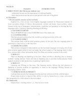 Giáo án Tiếng Anh lớp 6 hay (cả năm)