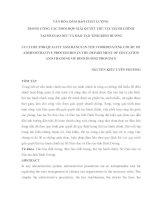 VĂN HÓA ĐẢM BẢO CHẤT LƯỢNG TRONG CÔNG TÁC PHỐI HỢP GIẢI QUYẾT THỦ TỤC HÀNH CHÍNH TẠI SỞ GIÁO DỤC VÀ ĐÀO TẠO TỈNH BÌNH DƯƠNG