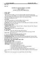 giáo án 5 bước - CÔNG NGHỆ 6