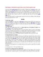 Bài tập tình huống môn luật sở hữu trí tuệ (có đáp án)
