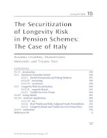 Chapter 15  the securitization of longevity risk in pension schemes; the case of italy