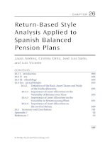 Chapter 26  return based style analysis applied to spanish balanced pension plans