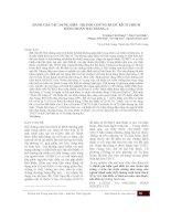 ĐÁNH GIÁ tác DỤNG điều TRỊ hội CHỨNG RUỘT KÍCH THÍCH BẰNG HOÀN đại TRÀNG a