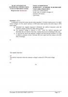 Đề thi và đáp án môn Truyền Động Điện ( Electric Drives)
