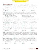 5  (thứ 6 ngày 13   9) AMINO AXIT + BIỆN LUẬN CT MUỐI AMONI