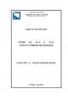 Tuyển dụng công nhân may tại công ty TNHH PI VINA DANANG